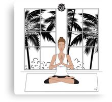 Yoga Girl.... Canvas Print
