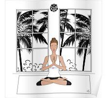 Yoga Girl.... Poster