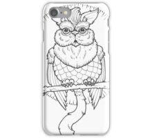 Owl Cat  iPhone Case/Skin