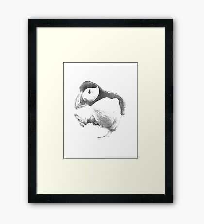 9GAG - Unpopular Opinion Puffin Framed Print