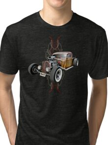 Pinstripe RAT - Full Throttle Tri-blend T-Shirt