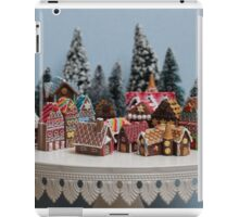 Miniature Gingerbread House Town iPad Case/Skin