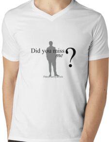Did you miss me ? #moriartylives Mens V-Neck T-Shirt