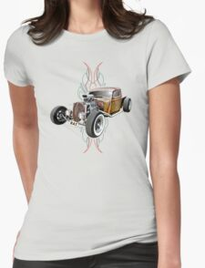 Pinstripe RAT - Full Throttle-a Womens Fitted T-Shirt