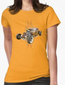 Pinstripe RAT - Full Throttle-a Womens T-Shirt