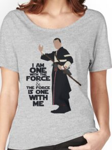 Star Wars - Chirrut Imwe I Am One With The Force And The Force Is With Me Women's Relaxed Fit T-Shirt