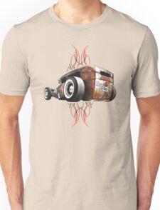 Pinstripe RAT - Rear View-a Unisex T-Shirt