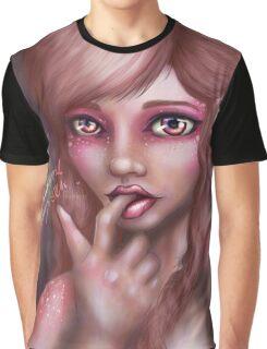 Oquette Orchid Pixie Graphic T-Shirt