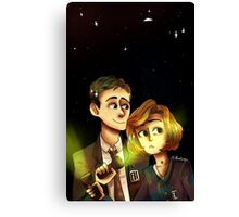 Light X-Files Canvas Print