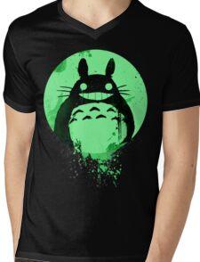 Totoro Ghibli Fanart ZOMBIE - by Mien Wayne Mens V-Neck T-Shirt
