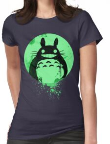 Totoro Ghibli Fanart ZOMBIE - by Mien Wayne Womens Fitted T-Shirt