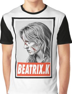 -MOVIES- Beatrix Kiddo Kill Bill Graphic T-Shirt