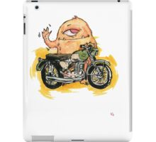 M is for Motorbike Monster! iPad Case/Skin
