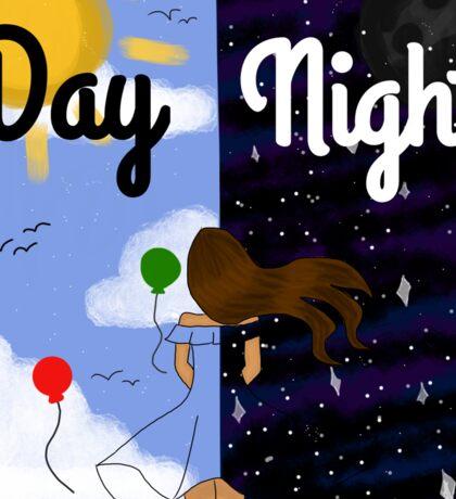 Day & Night Sticker