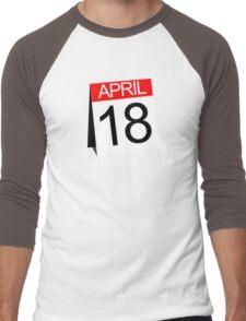 April 18th Men's Baseball ¾ T-Shirt