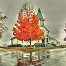 Amissville United Methodist Church by James Brotherton