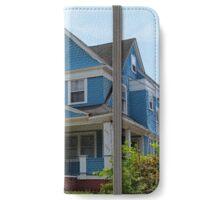 Old West End Blue 3 iPhone Wallet/Case/Skin
