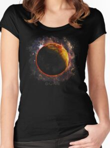 DUNE the spice must flow Women's Fitted Scoop T-Shirt