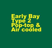 Early Bay Pop Type 2 Pop Top Yellow Unisex T-Shirt