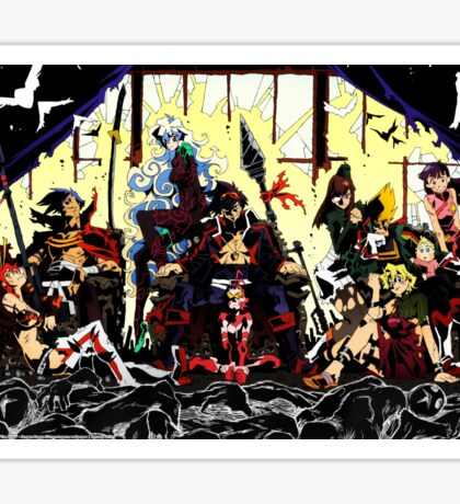 Dai Gurren Dan Sticker
