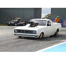 wayne batson drag racing  Photographic Print