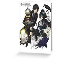 Anime: Kuroshitsuji Greeting Card