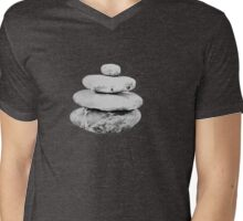 Intention Stones 1 Mens V-Neck T-Shirt