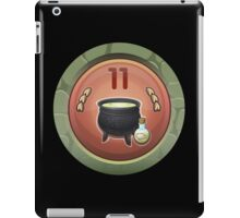 Glitch Achievement moste potente potioning medal iPad Case/Skin