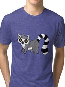 Adorable Lemur Tri-blend T-Shirt