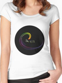 Be eco Women's Fitted Scoop T-Shirt