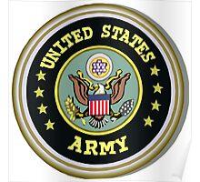 USA ARMY symbol Poster