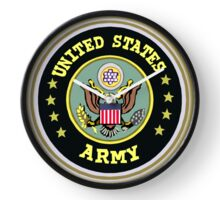 USA ARMY symbol Clock