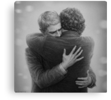 John and Sherlock Canvas Print