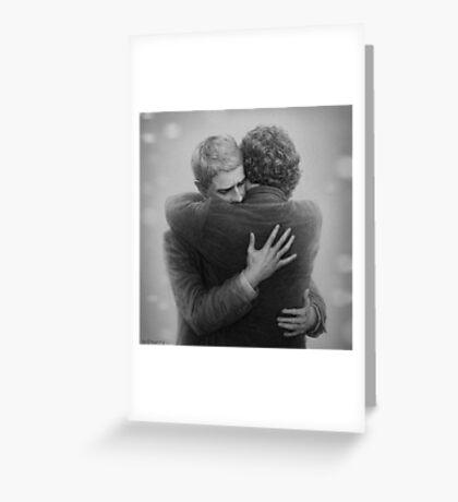 John and Sherlock Greeting Card