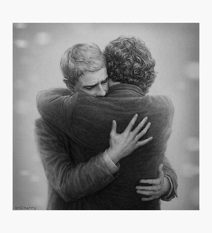 John and Sherlock Photographic Print