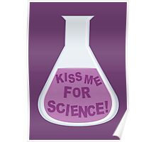 Kiss Me For Science! Poster