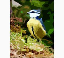 "Birds story, "" fawn paint Picasso ! "" 19 (c) (h) the Blue Tit - Olao-Olavia by Okaio Créations  Unisex T-Shirt"