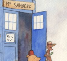 Doctor Pooh Sticker