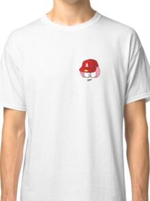 Crazy Brain with Baseball Cap Classic T-Shirt