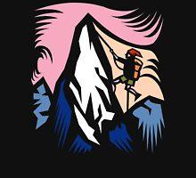 Mountain Climbing Abstract Unisex T-Shirt