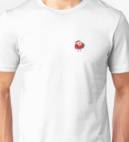 Grumpy Christmas Red Robin Unisex T-Shirt