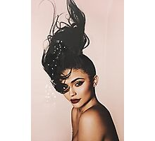 Kylie Jenner Hair Up Photographic Print