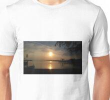 Sunset Passignano sul Trasimeno, Umbria, Italy   Unisex T-Shirt