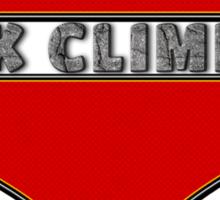 Love Rock Climbing Sticker