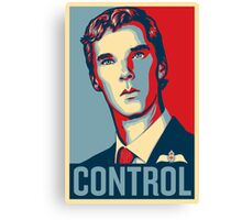 CONTROL 4colours Canvas Print