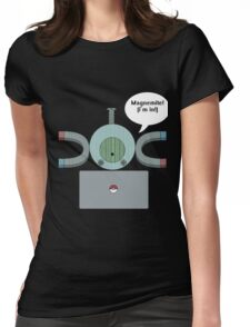 Hacker Magnemite  Womens Fitted T-Shirt