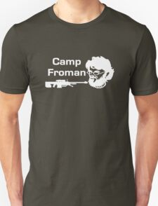 Camp Froman white Unisex T-Shirt