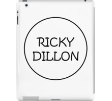 Ricky Black iPad Case/Skin