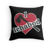 I Love Ichabod by VampireLily Throw Pillow