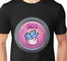 Glitch Achievement nigh mystical lepidopteral manipulator Unisex T-Shirt